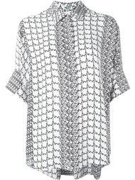 geometric print shirt  Kenzo