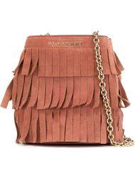 сумка-мешок с бахромой Burberry