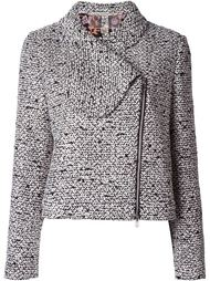 пиджак со смещенной застежкой-молнией Giambattista Valli