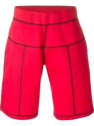 спортивные шорты с видной строчкой Christopher Kane