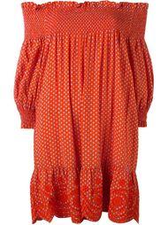 мини-платье с открытыми плечами Tory Burch
