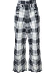 checked pallazo pants Marc Jacobs