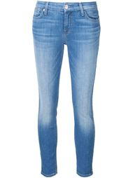 cropped skinny jeans 7 For All Mankind