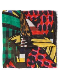 paint print scarf Stella McCartney
