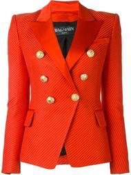 двубортный пиджак Balmain