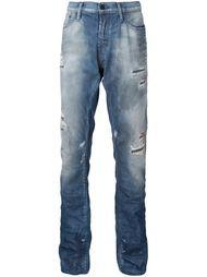 джинсы с заплатками Prps