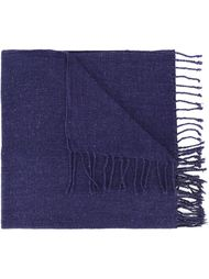 fringed knitted scarf Al Duca D'Aosta 1902