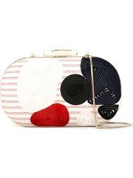 мини-клатч с вышивкой Giorgio Armani
