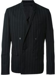 pinstriped double breasted blazer Juun.J