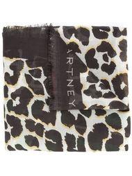 leopard print scarf Stella McCartney