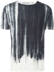'Water Flow' paint effect relaxed fit T-shirt Nudie Jeans Co