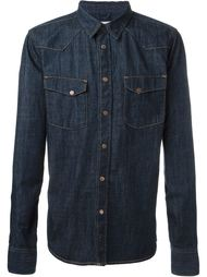'Jonis Triton' button down denim shirt Nudie Jeans Co