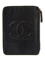 клатч с круговой застежкой-молнией Chanel Vintage