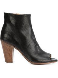 ботинки по щиколотку с открытым носком Officine Creative