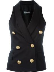 double breasted waistcoat Balmain