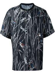 футболка с принтом птиц Dolce & Gabbana