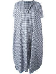 платье-рубашка в клетку Daniela Gregis