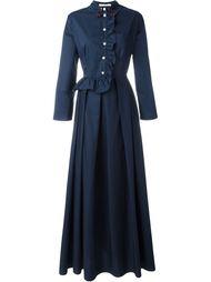 длинное платье с оборкой Vivetta