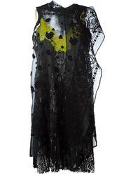bandanna print dress Sacai