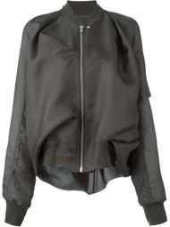 драпированная куртка-бомбер Rick Owens