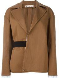 куртка с поясом Marni