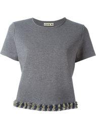 футболка с контрастной окантовкой  Jour/Né
