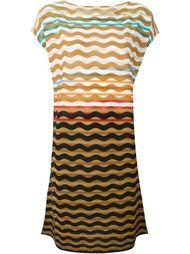 платье с волнистым узором Issey Miyake