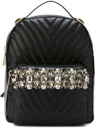 инкрустированный горным хрусталем рюкзак Gedebe