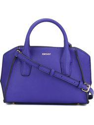 сумка-тоут с зернистой фактурой DKNY