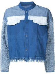 cropped patchwork jacket Mame