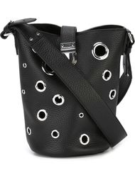 мини сумка-мешок с люверсами McQ Alexander McQueen