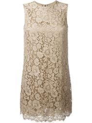 кружевное платье  Dolce & Gabbana