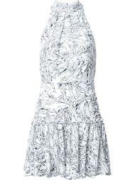короткое платье с волнистым принтом Elizabeth And James