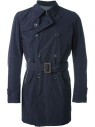 belted trench coat Herno