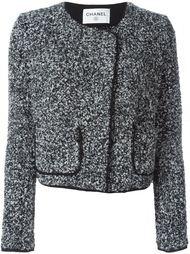трикотажный пиджак вязки букле Chanel Vintage