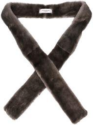 шарф их меха норки Yves Saint Laurent Vintage