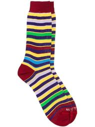 striped mid-calf socks Etro