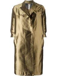 oversize glossy trench coat Antonio Marras