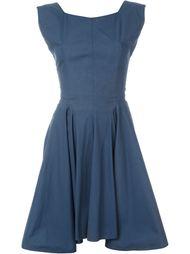 расклешенное платье Alaïa Vintage