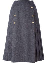 плиссированная юбка Chanel Vintage