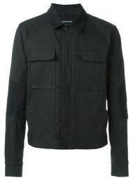 куртка в стиле милитари с карманами Alexandre Plokhov
