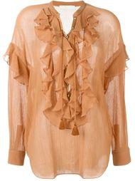 рубашка с рюшами Chloé