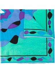 платок с абстрактным принтом Emilio Pucci Vintage