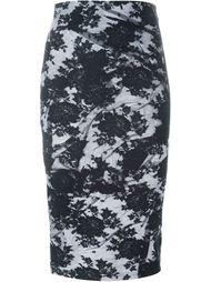 юбка с принтом McQ Alexander McQueen