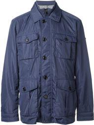 concealed zip fastening jacket Hackett