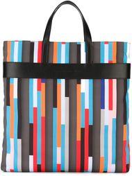 сумка-тоут с геометрическим принтом Christopher Kane