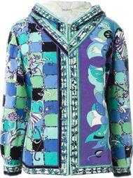 бархатная куртка с капюшоном Emilio Pucci Vintage
