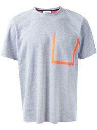 футболка с контрастной окантовкой кармана Tim Coppens