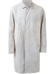 пальто с панельным дизайном Wooyoungmi