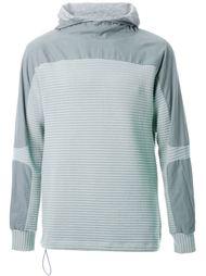 paneled hooded sweatshirt Tim Coppens